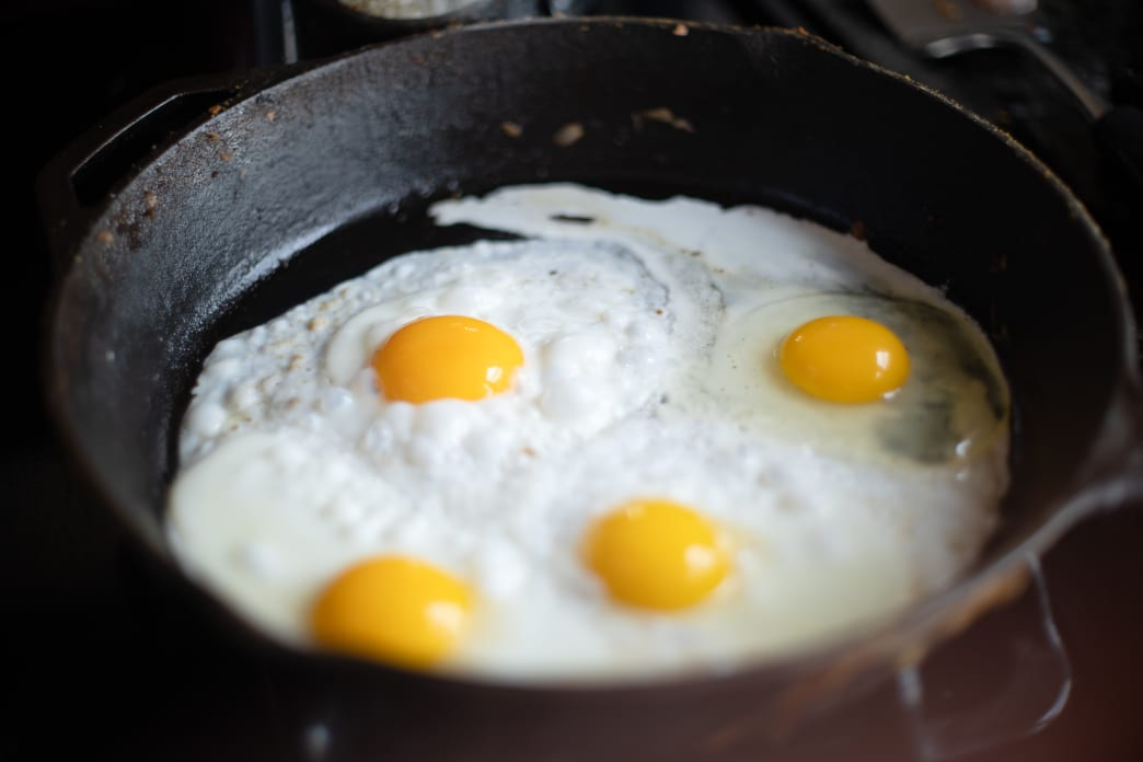 Egg yolks, dairy, and seafood are excellent natural sources of iodine. Sarah Boudreau