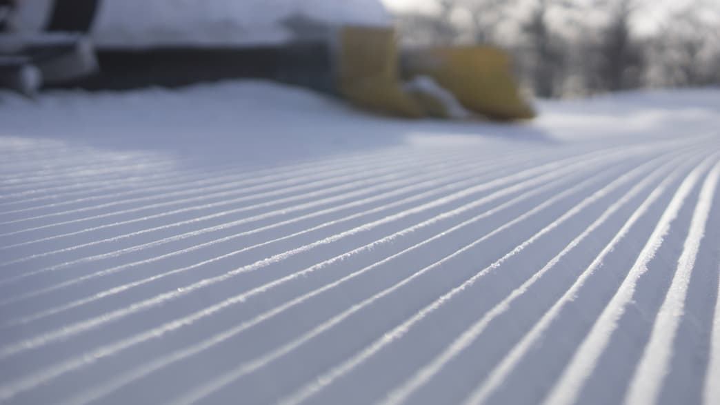 Snow Grooming in the Pocono Mountains