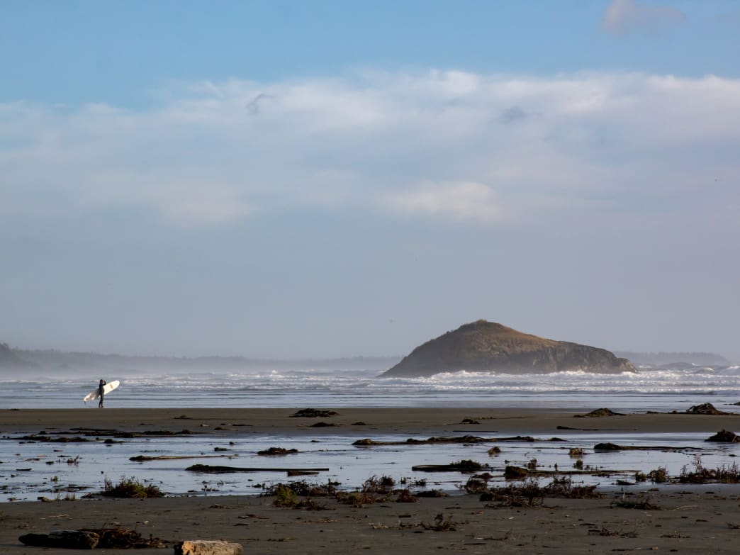 Tofino's surf scene is incredible during the offseason.