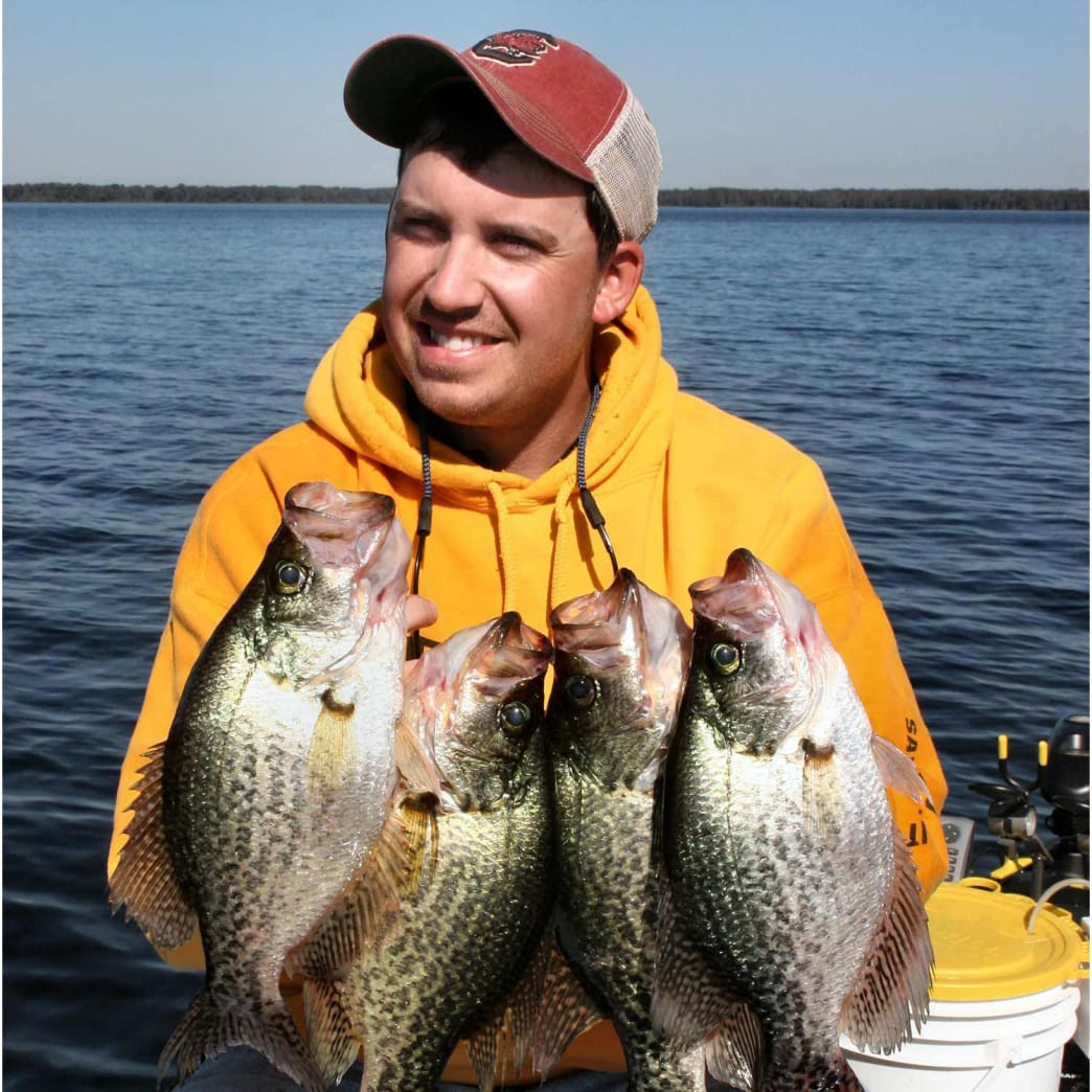 Trolling can catch a lot of crappies.
