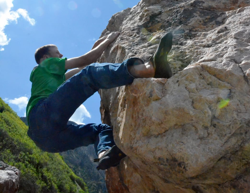 From backyard crags to alpine walls high in the Wasatch, Ogden features quite the variety of stone.