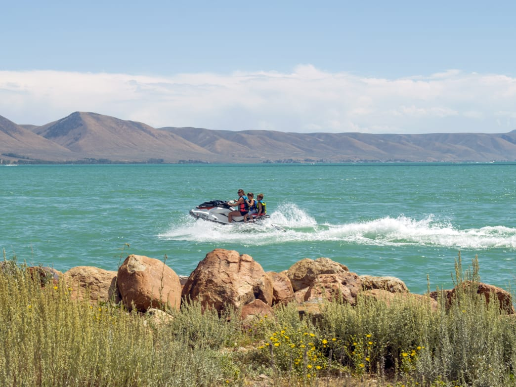 Bear Lake, located on the border between Utah and Idaho, has long been a destination for family vacations.