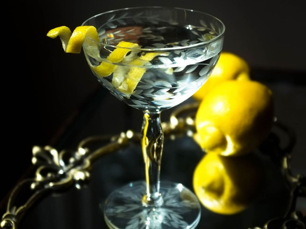 The Vesper is an elegant compromise on the vodka vs. gin martini debate.