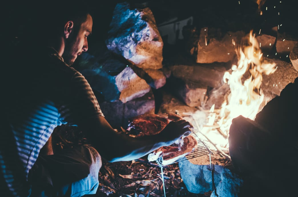 Camping food doesn't have to be the same old foods over and over again.