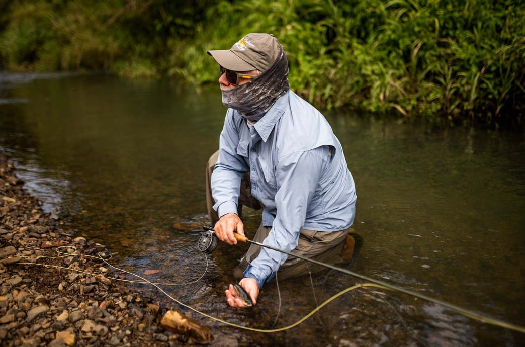The author checks a mountain mullet off of his bucket list.