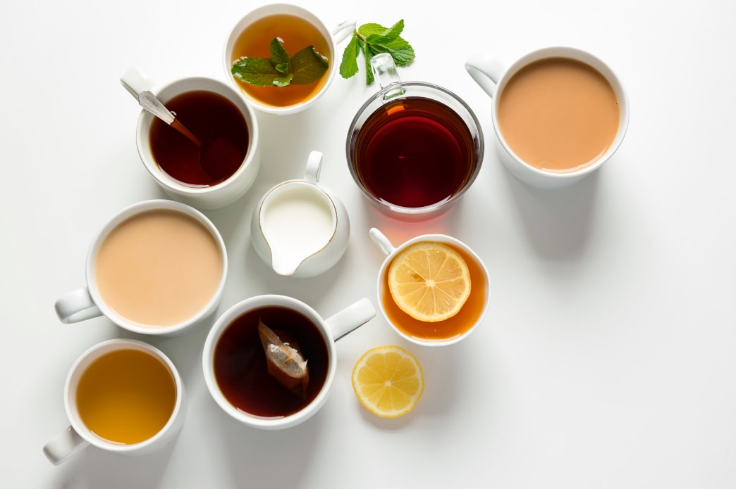 Tea in a Wide Variety of Distinct Flavors