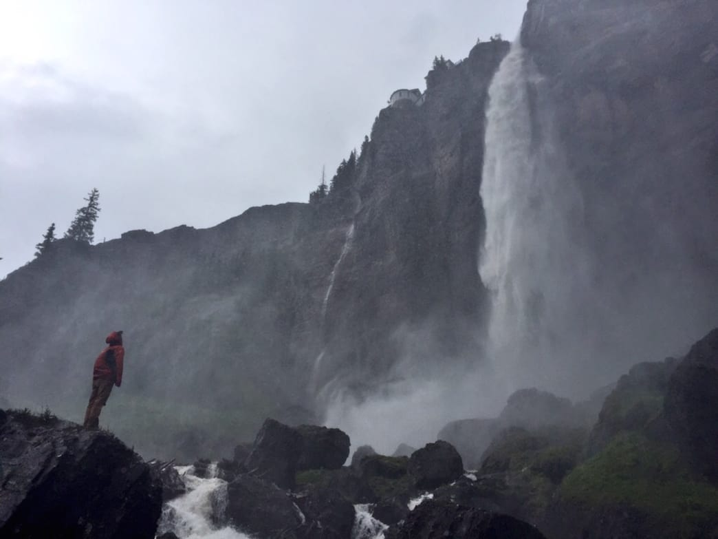 Colorado's tallest waterfall—Bridal Veil Falls.