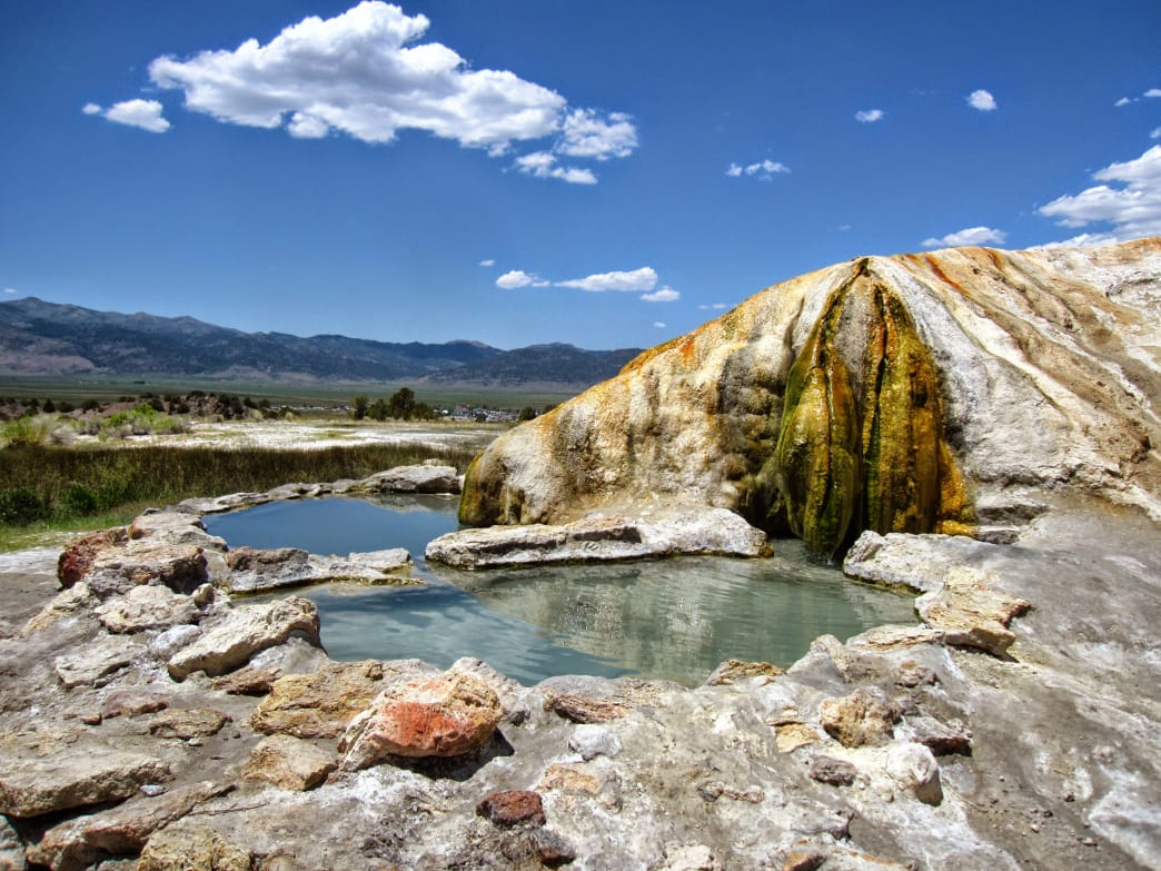Plan time for a trip to the hot springs after a long day–you won't regret it, and your body will thank you for it.