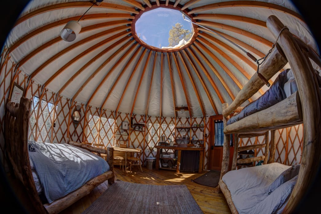 Tennessee Pass Sleep Yurts