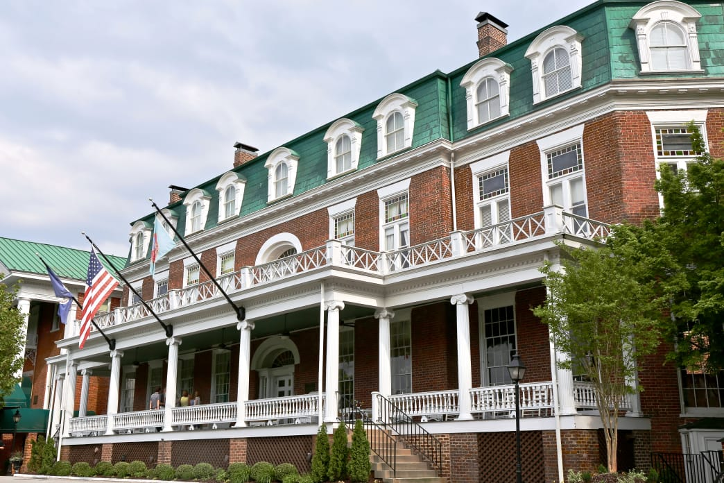 The historic Martha Washington Inn and Spa in Abingdon is one of the area's gems.       Renee Sklarew