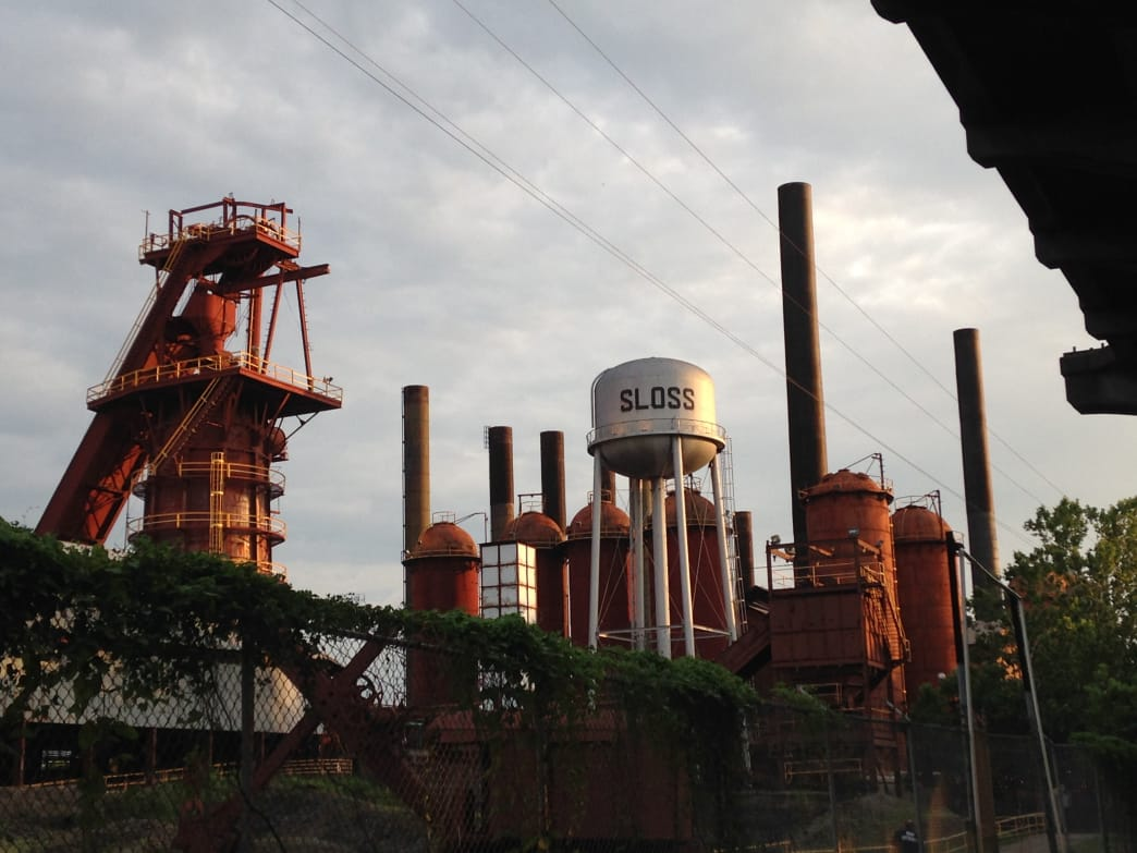 Sloss Furnace is one of the most haunted sites in Alabama.
