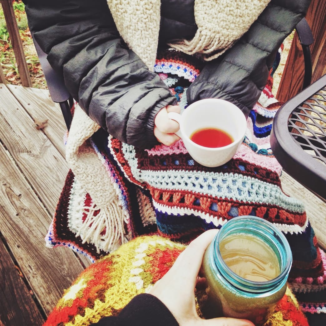 There are a lot of cozy things about fall, but cider might just be the coziest of all.