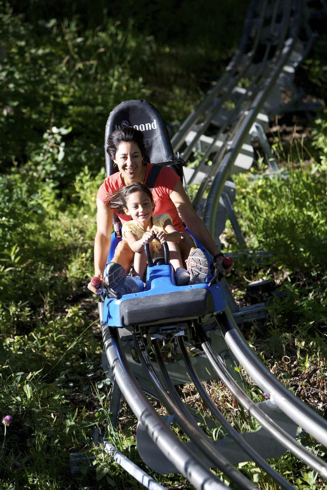 The Park City alpine coaster is the best way to cruise to lunch.