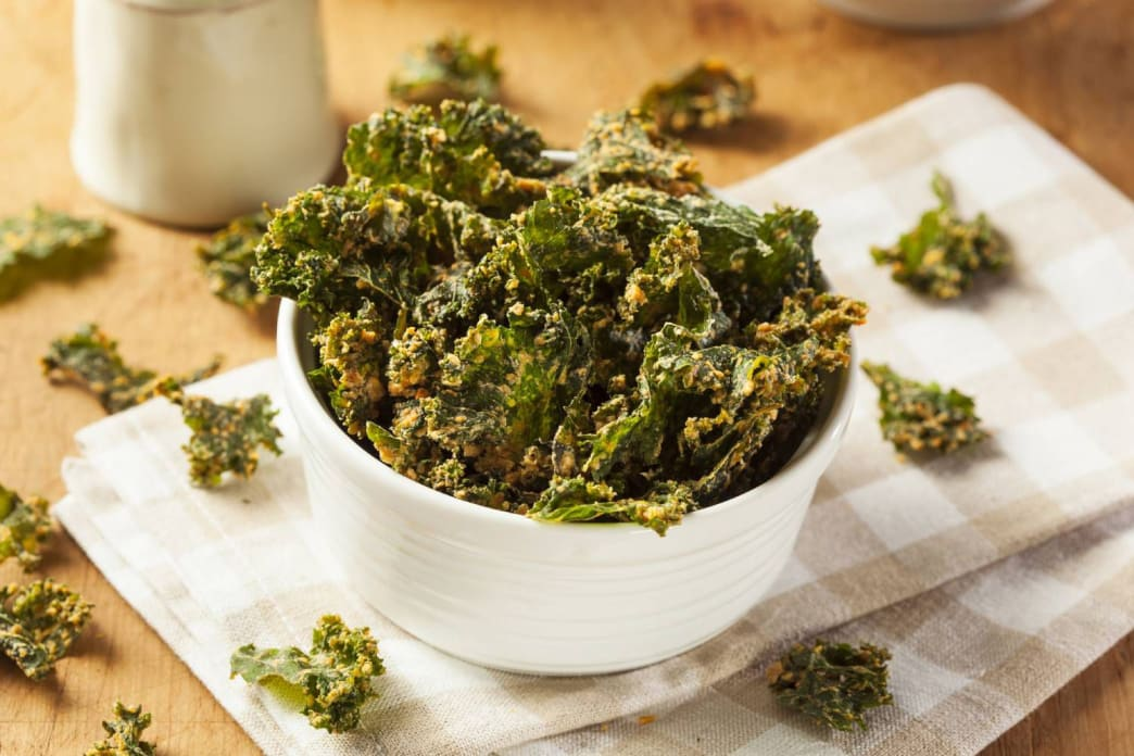 Eating your greens has never been so tasty and crunchy.