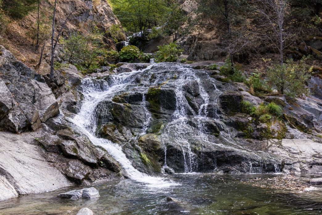 20180712-California-Whiskeytown National Recreation Area-Crystal Creek Falls