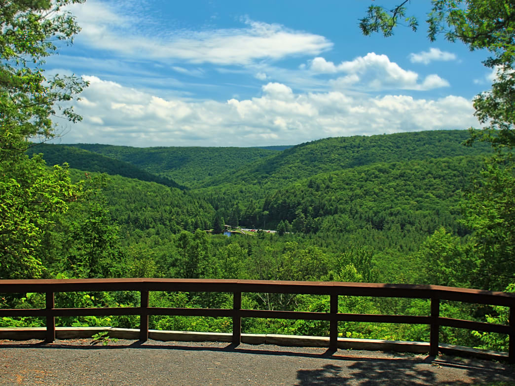R.B. Winter Overlook is just one of the spectacular views you can find in the region.