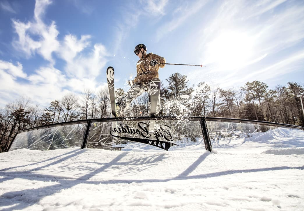 Experience the Largest Terrain Park in the Poconos at Big Boulder
