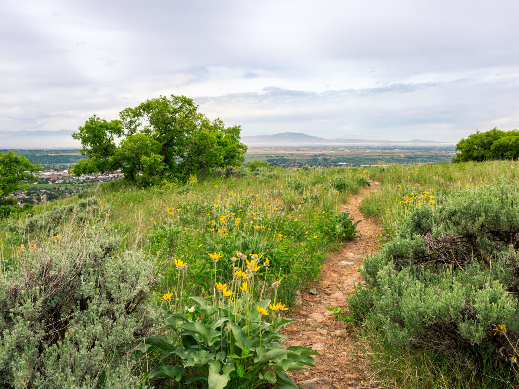The Centennial Trail is a mix of paved and off-road paths that complete a 27-mile circle around Ogden and neighboring towns.