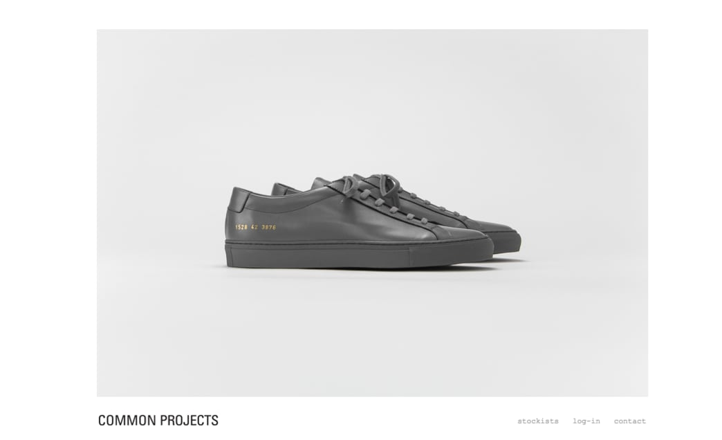 Common projects brands marketing