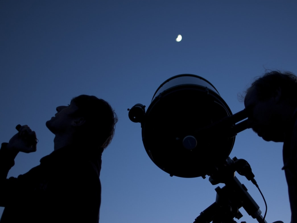 Star parties, like this one at the Grand Canyon, happen all over the country — including here in Colorado Springs.