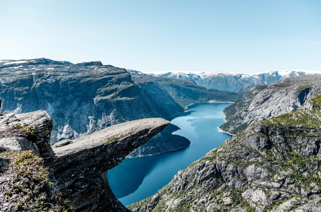 The Trolltunga Trail