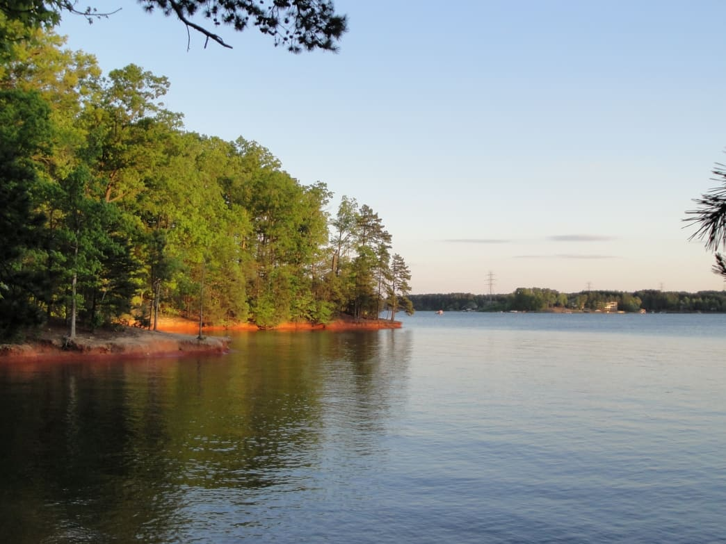 In just 40 minutes, you can be on the trails and in the water at Lake Norman.