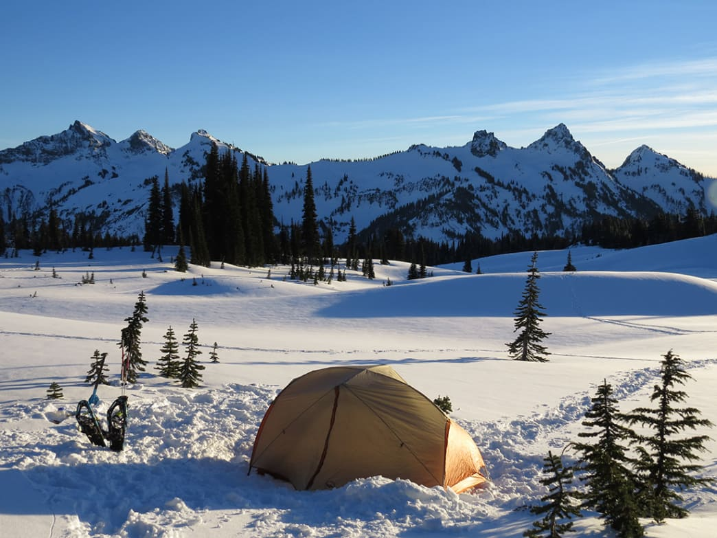 Winter Camping in Colorado