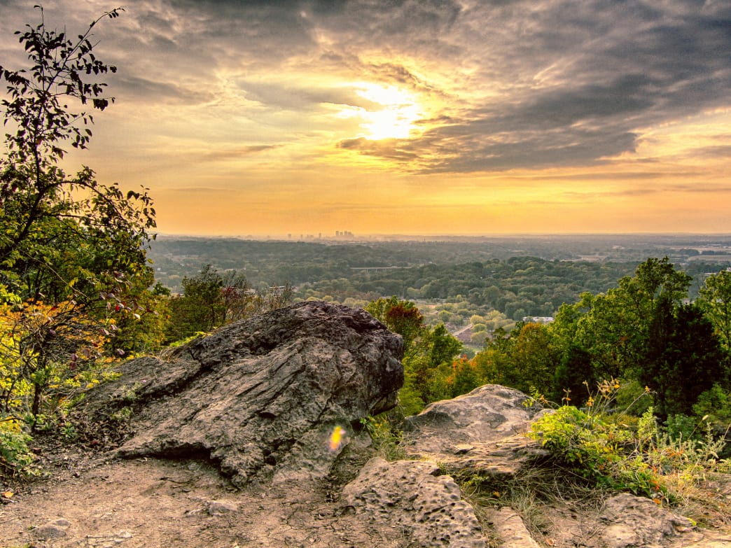 Ruffner Mountain is one of many Alabama spots that offer great hikes to get you out and moving this spring.