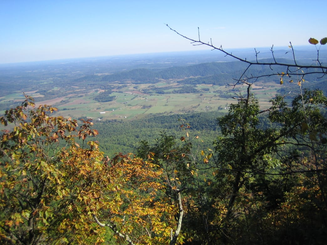 See the views of Shenandoah Valley from a bike.
