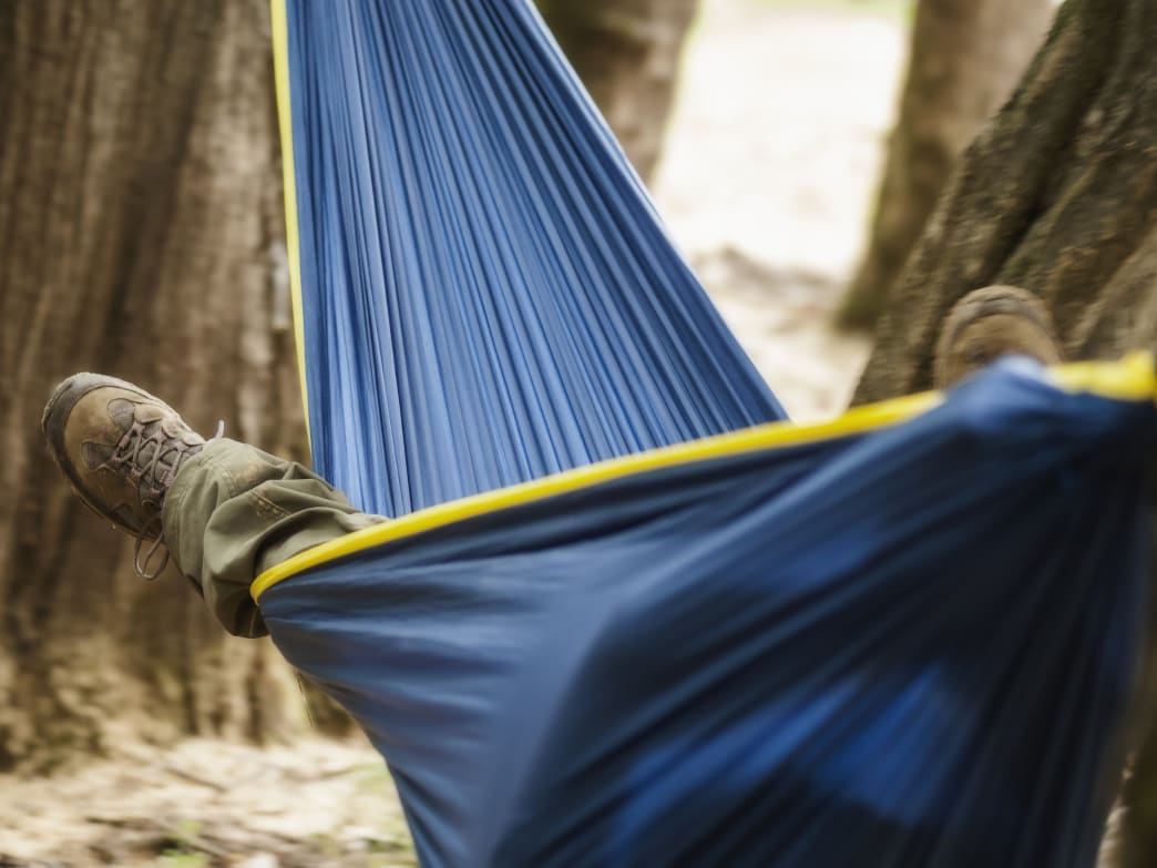 If you camp in a hammock in winter, you need to take extra steps to stay warm.