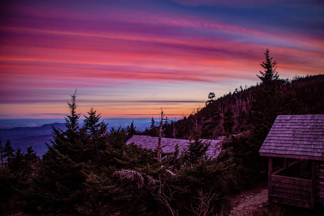 There's nothing quite like a sunrise in the Smokies.