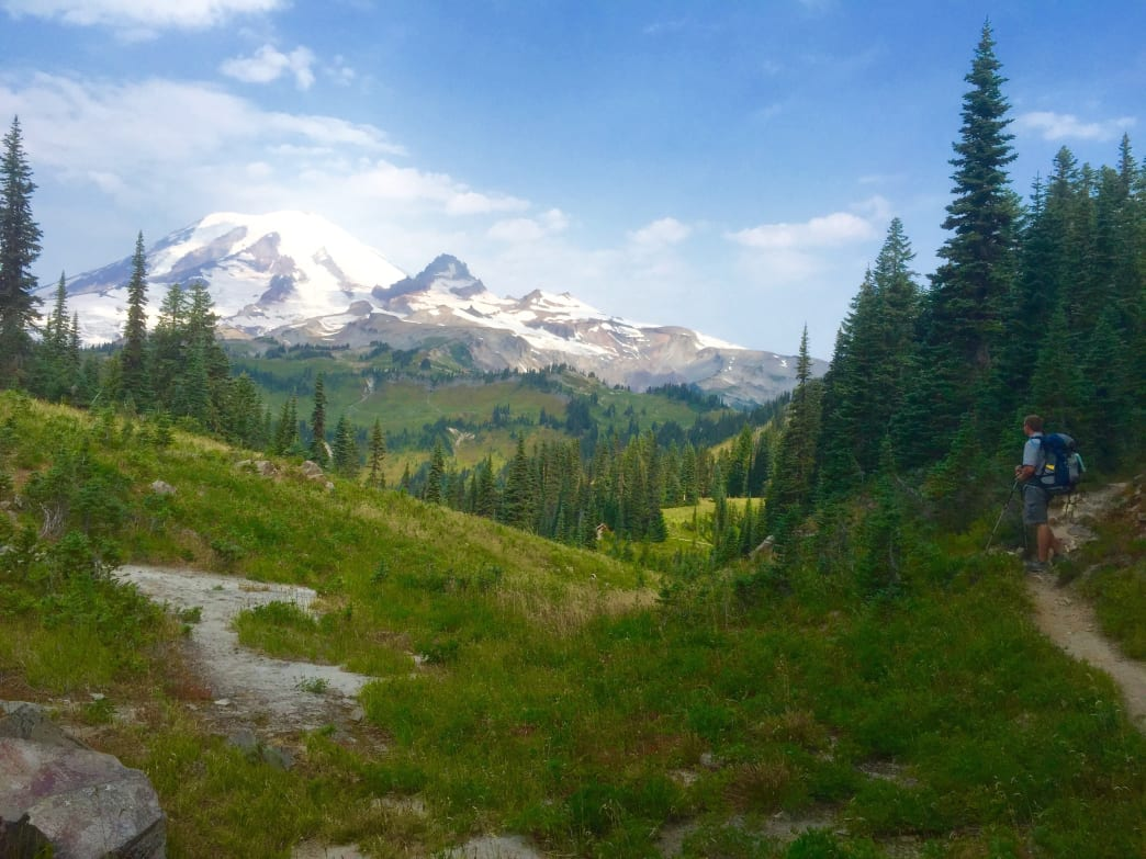 Mount Rainier National Park's Wonderland Trail is one of the best backpacking trips in the state.