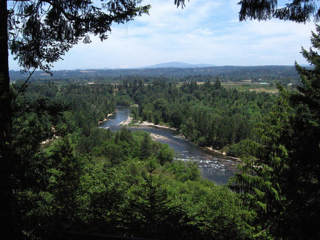 Milo McIver State Park is among the most popular float launchpads in the Portland area.