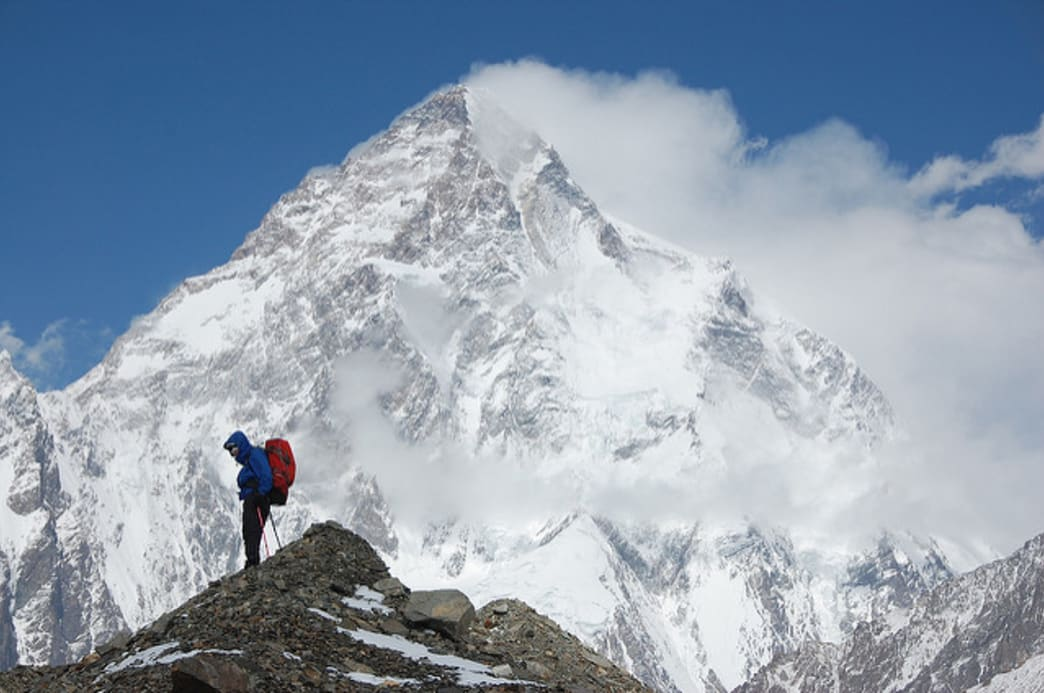 K2, the second highest mountain in the world, proved to be one of most elusive summits for Kaltenbrunner to reach.