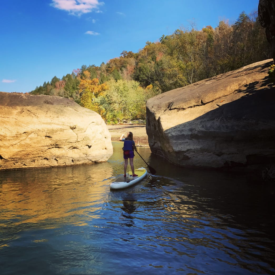 Stand-up paddleboarding can be in intimidating, but once you learn, you'll never want to get off.