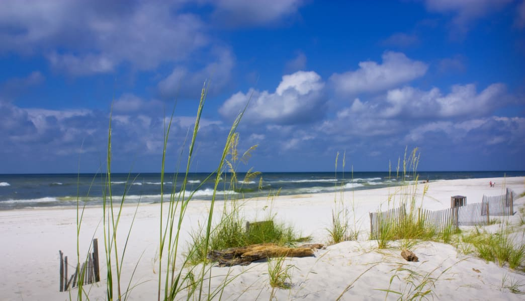 Enjoy fair weather and small crowds during the Gulf Shores off-season.