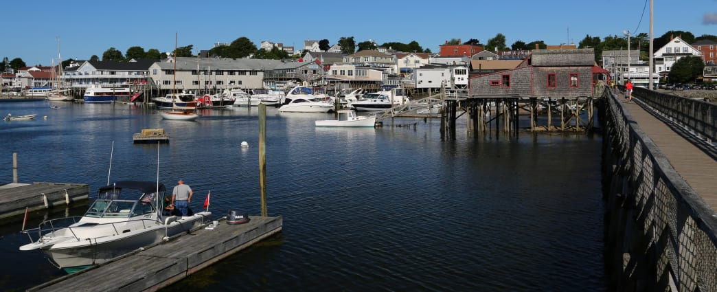 Boothbay Harbor is home to the largest boating harbor north of Boston.
