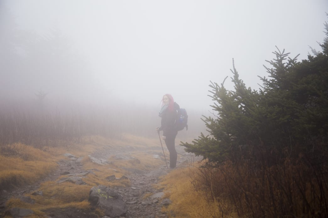 Fall is an excellent time for hiking at Grayson Highlands.