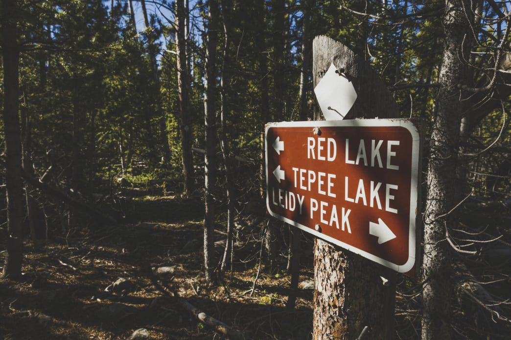 The trail to Teepee Lake is one of hundreds of miles of trails in the Uinta Mountains.