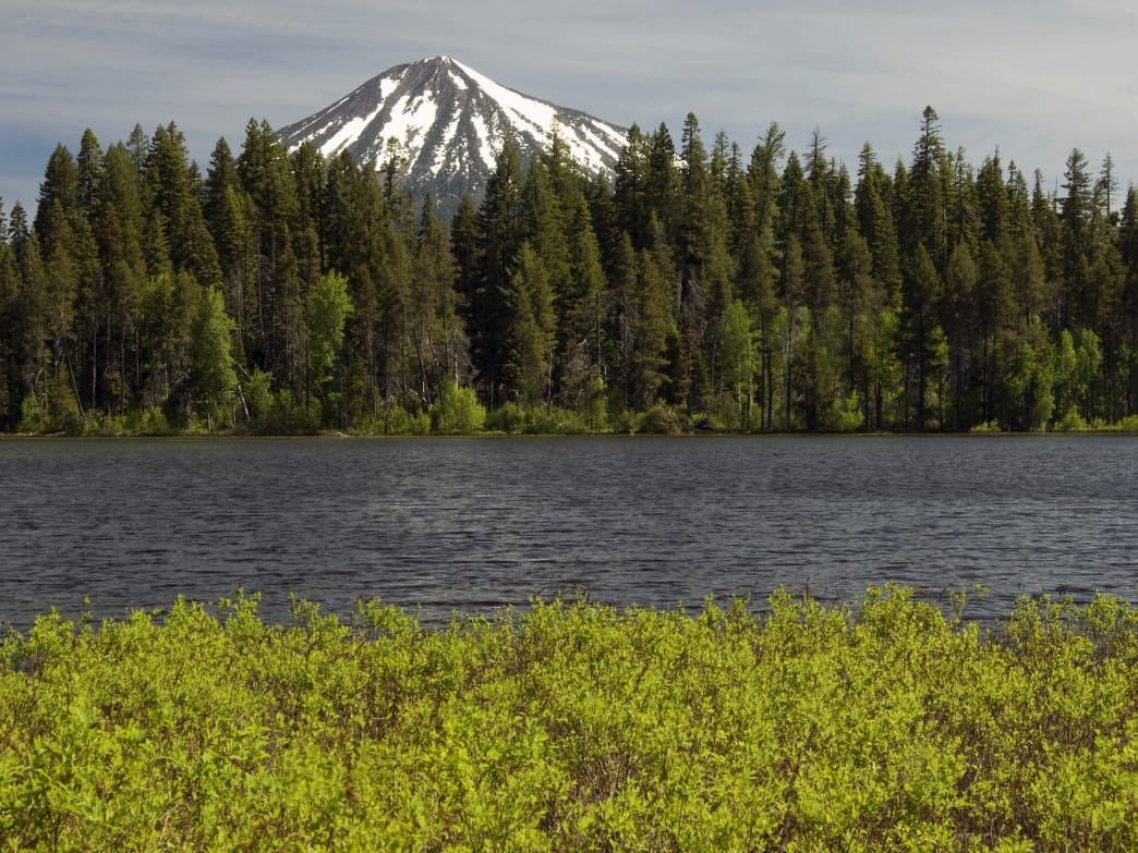 Fourmile Lake features some of the best hiking in Klamath County.