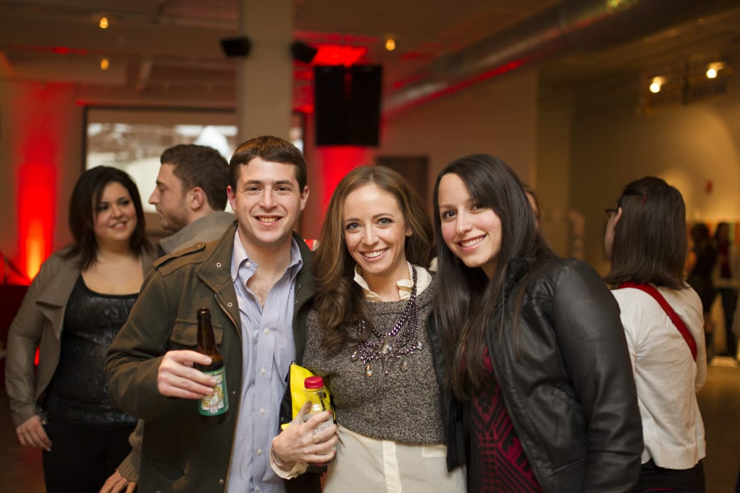Creative Loafing Art Party at the 2014 AJFF