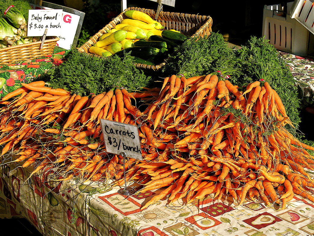 With tons of organic acreage, Coloradans have abundant access to healthy foods.