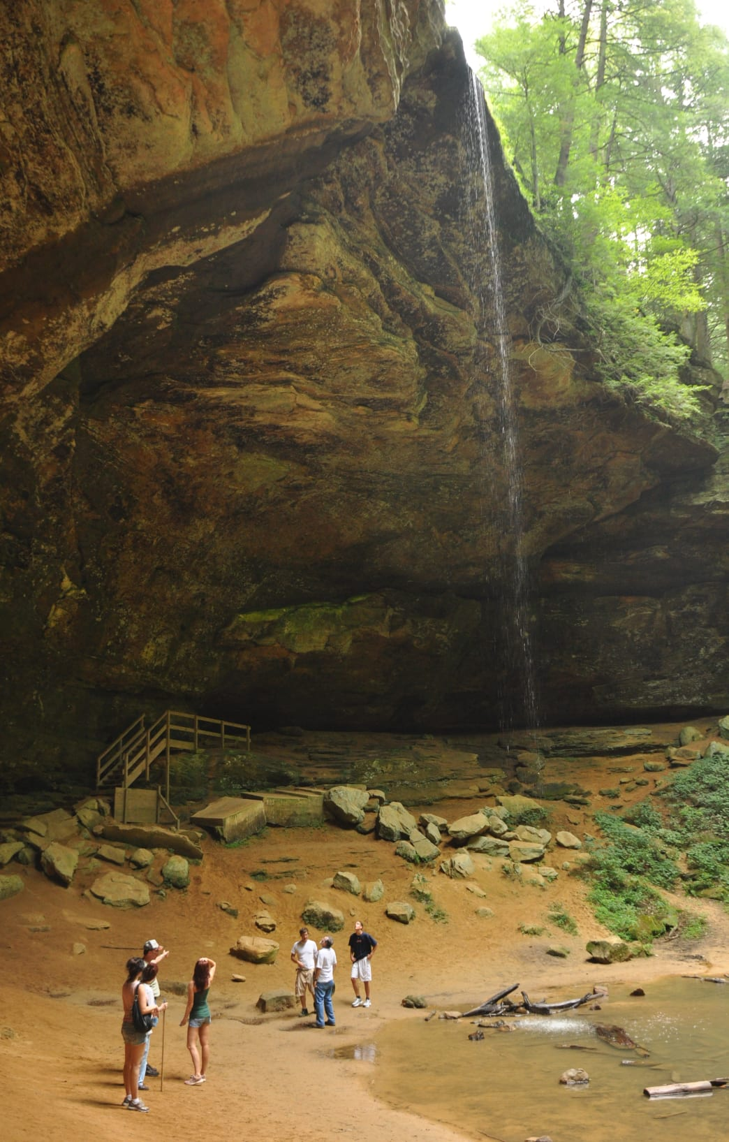 Ash Cave at Hocking Hills.