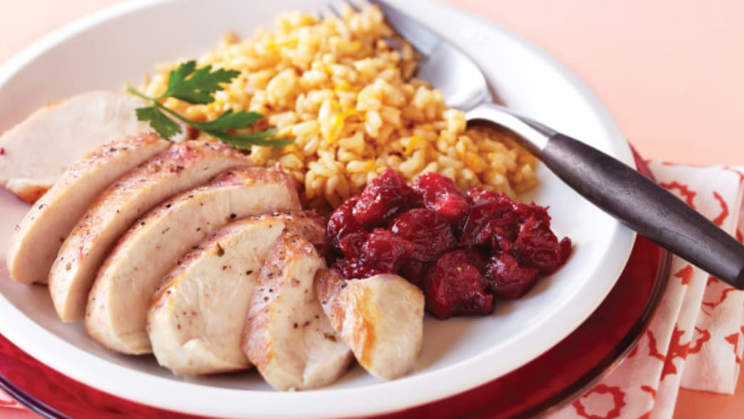 .Plated chicken and sides - Clean eating Magazine