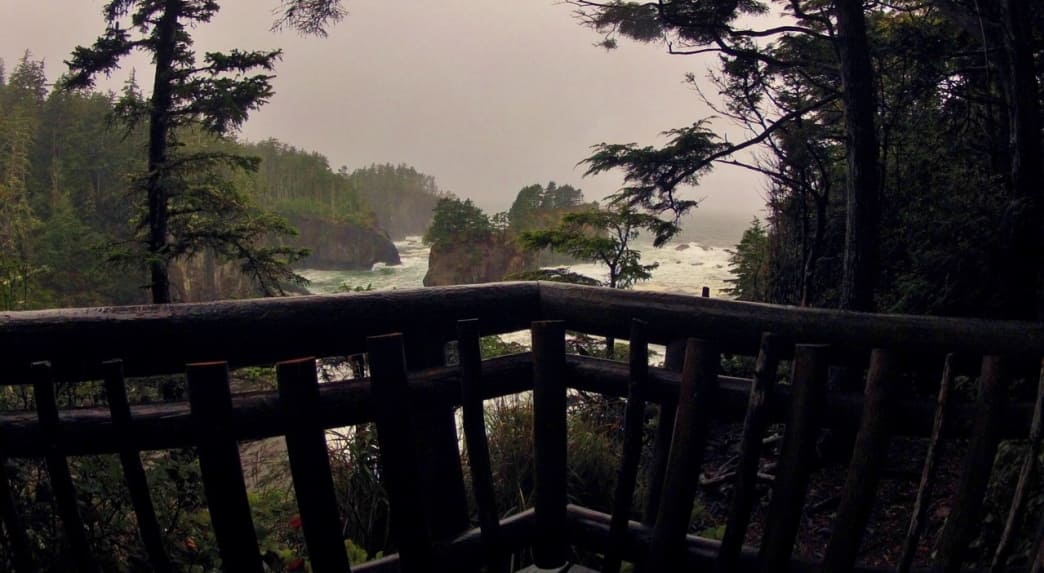 Cape Flattery is the Northwestern-most point in the continental US and the end of the Northern Olympic Peninsula