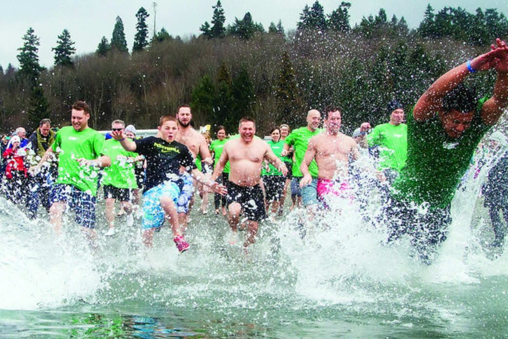 Polar Plunge events have become popular winter festivals throughout the United States and Canada in recent years.