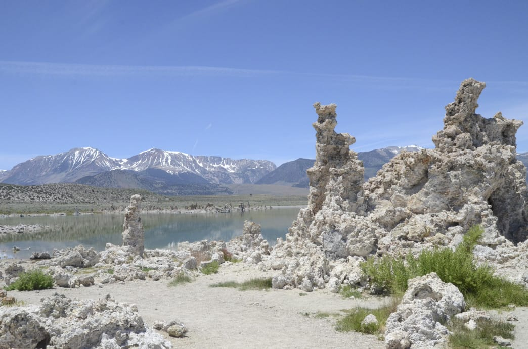 The otherworldly landscapes on Mono Basin, in Inyo National Forest, bordering Yosemite National Park.