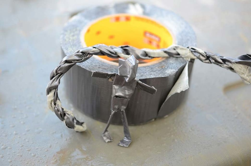 duct tape rope