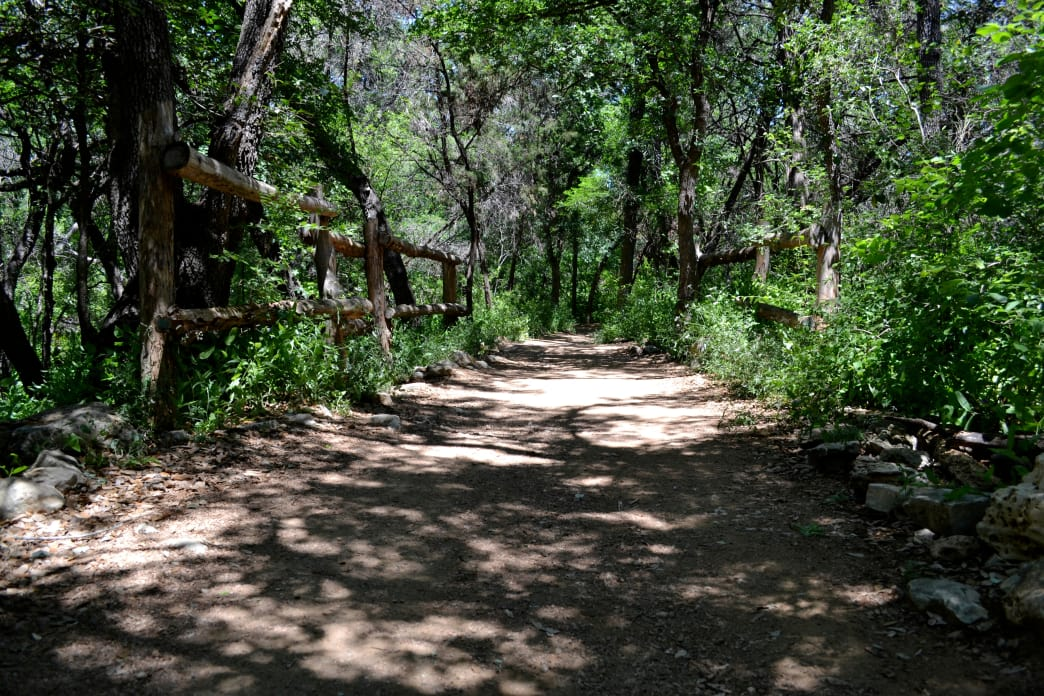 Barton Creek Greenbelt is a favorite among mountain bikers.