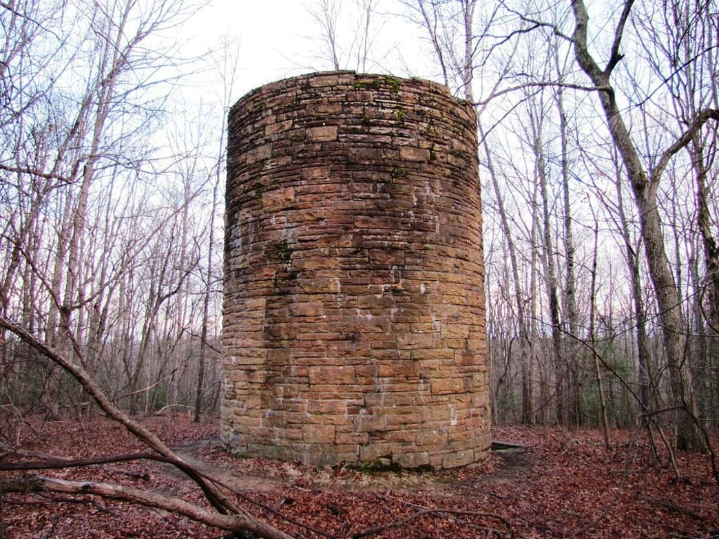 Water tower at Cumberland Mountain State Park